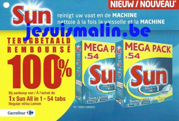 Sun Tablettes Lave Vaisselle Tout En 1