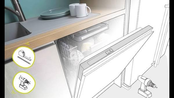 Probleme ouverture porte lave vaisselle encastrable : motie prix – engagement qualité – test