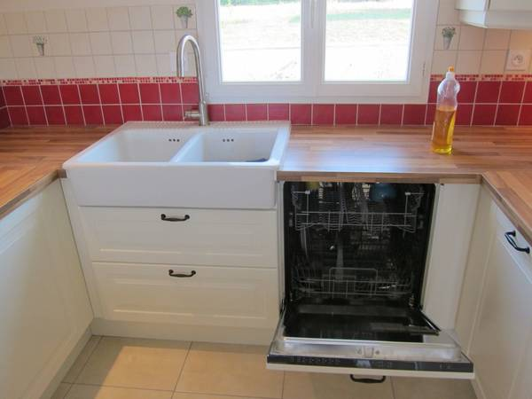 dimension standard lave vaisselle
