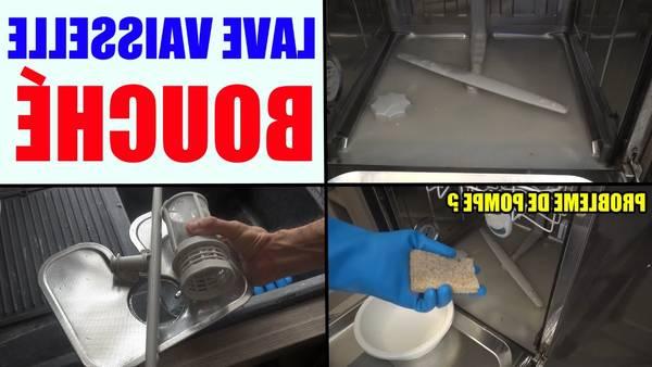 nettoyer pompe lave vaisselle