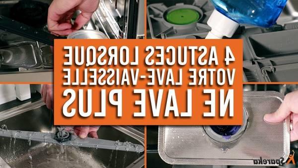 lave vaisselle hauteur